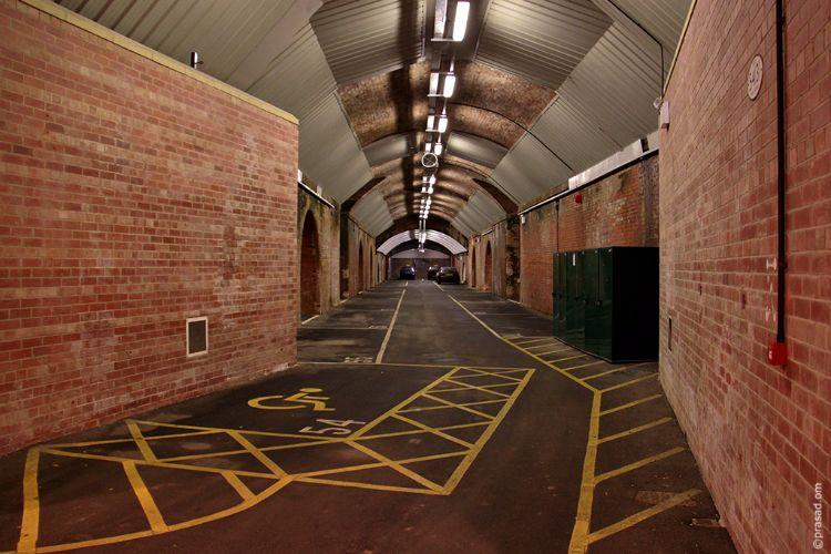 An Underground Car Park