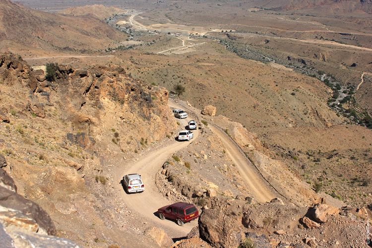 Off road to Wakan Village