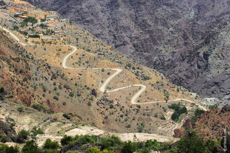 Off roads of Oman