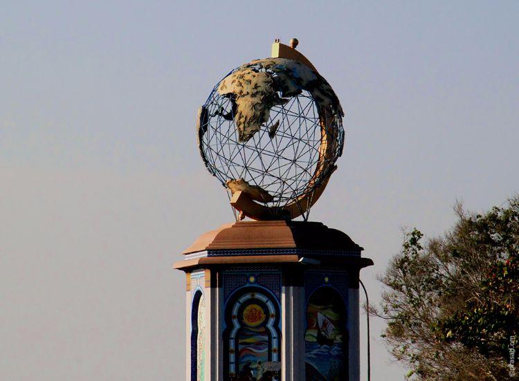 Globe Round About Sohar (That was)