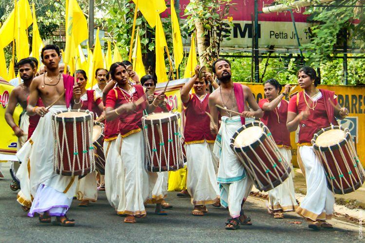 Procession in Kerala