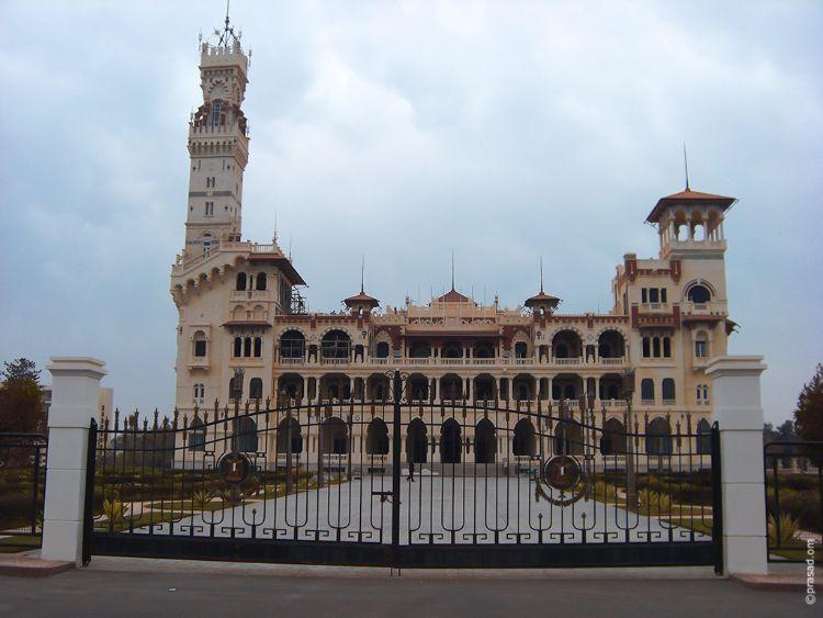 King Farouk's Palace. Alexandria