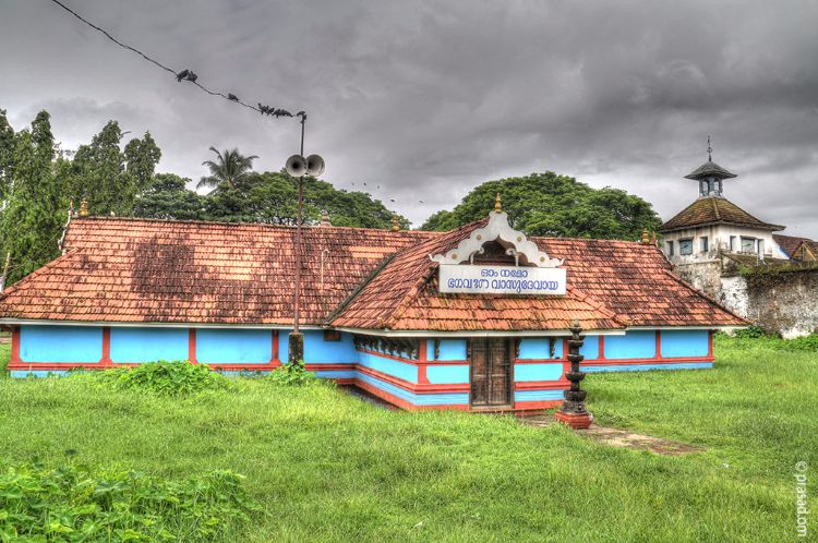 Maha Vishnu temple near Dutch Palace ; Mattancherry ; Kochi
