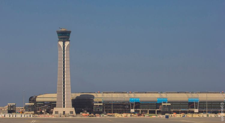 Muscat New Airport work under progress
