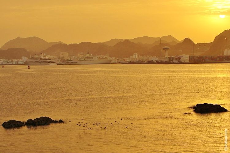 Muttrah Corniche Oman