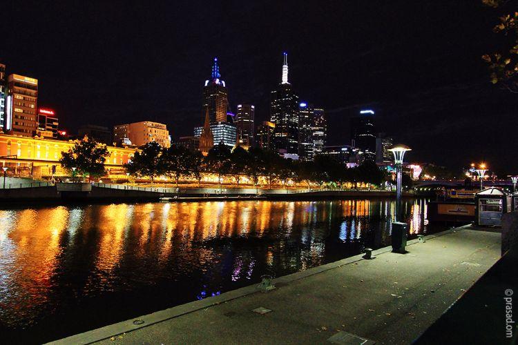 Yara River Melbourne Night View