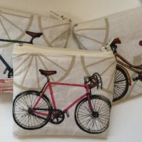 Mini cycle coin purses