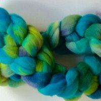 Gorgeous blues from Fibre East event