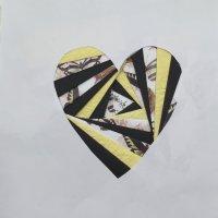 Heart - Iris folding technique