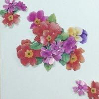 Decorative 3D Decoupage card design