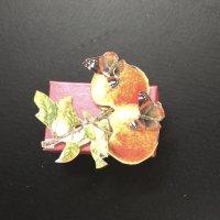 Decorative 3D decoupage gift box