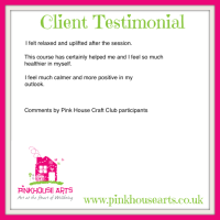 Pink House Craft Club Testimonials