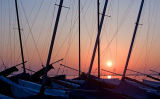 Masts At Sunset Code MS