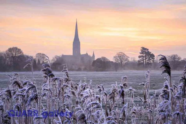 A Frosty Morning, Salisbury Catherdral
