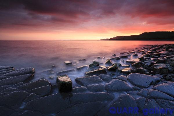 A Summer's Evening, Kimmeridge Bay