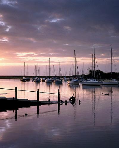 A Winter's Dawn, Christchurch Quay