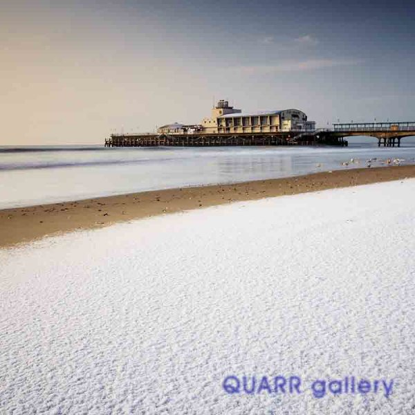 Snowfall, Bournemouth Pier