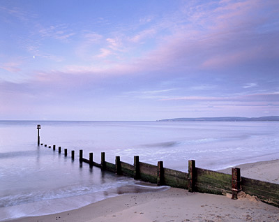 Breakwater, Branksome Chine beach, Poole