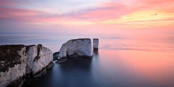 Daybreak, Old Harry Rocks (Panoramic)