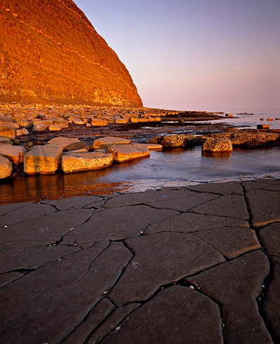 Evening Light, Kimmeridge Ledges 2