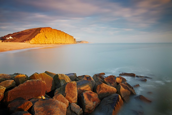 Evening Light, West Bay