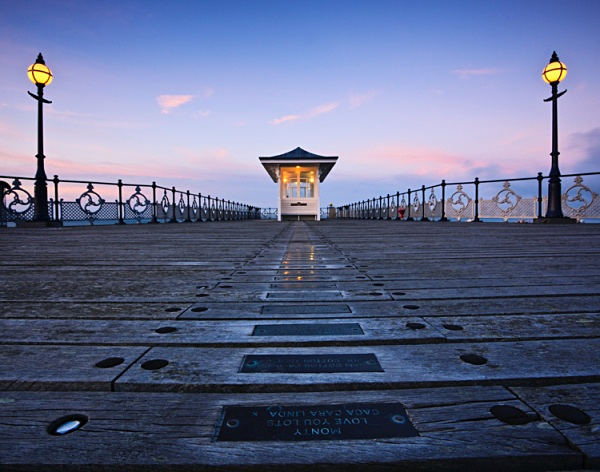 Fading Light, Swanage Pier