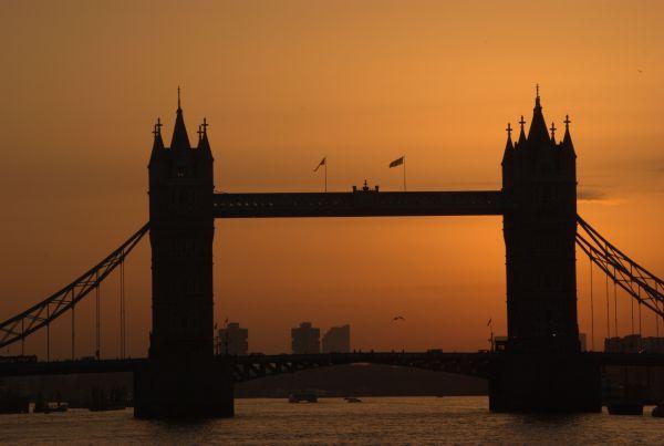 Golden Light, Tower Bridge
