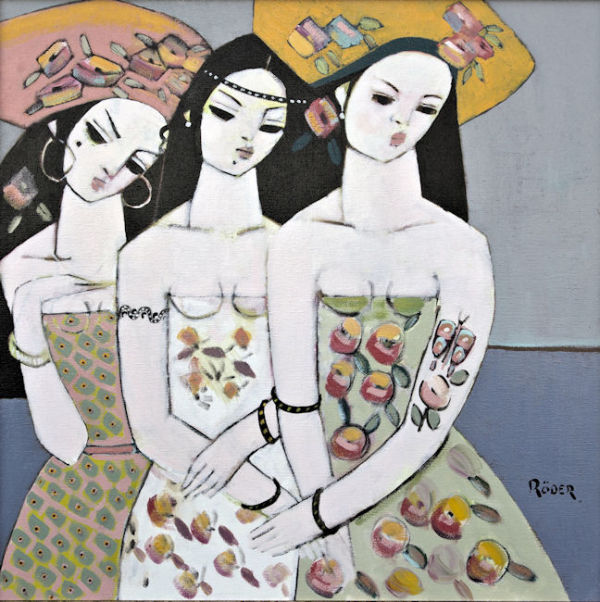 Magda and Friends SOLD