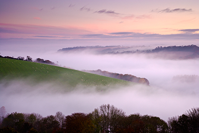 Autumn Mist Hod Hill