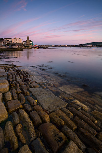 Dawn over Swanage