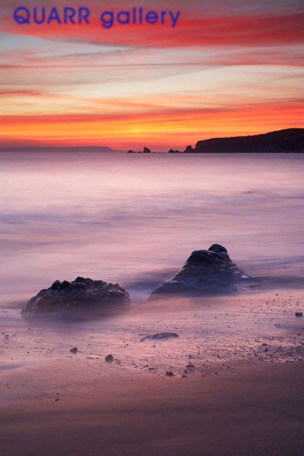 Winter Afterglow, Worbarrow Bay 2