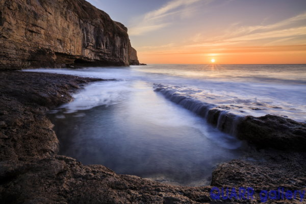 Sunrise, Dancing Ledge