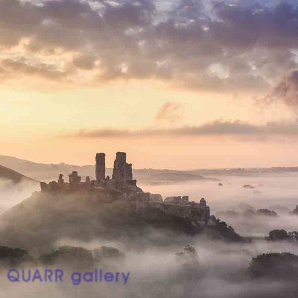 Early Autumn Sunrise, Corfe Castle