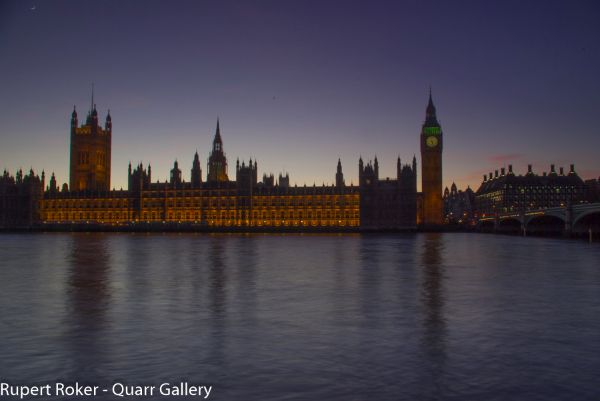 Palace of Westminster, Dusk 1