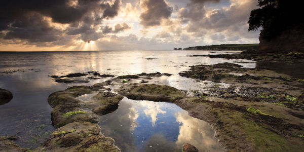 Daybreak, Middle Beach, Studland