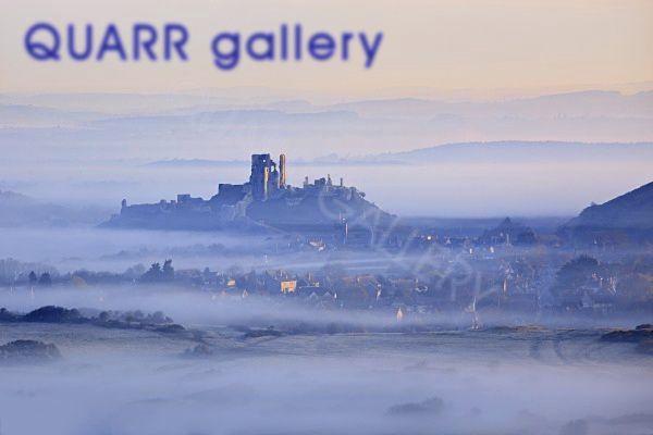 Spring Mist Corfe Castle 2