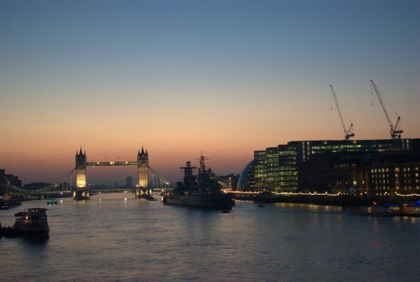 Sunrise, River Thames