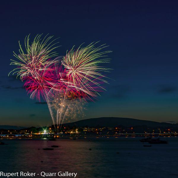Swanage Fireworks, 2016 - 1