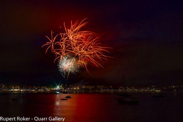 Swanage Fireworks, 2016 4