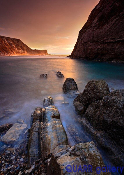 Winter Sunrise, Man o' War Bay No 3