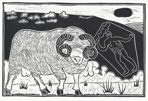 Dorset Horn Ram, Cerne Abbas