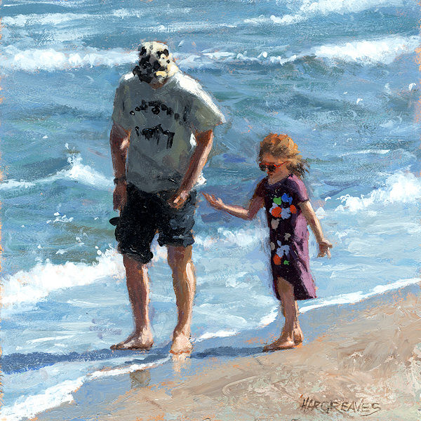 Father and Daughter SOLD