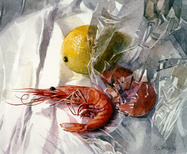 King Prawns and Lemon