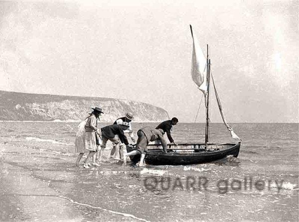 Sailing in Swanage (c1895)
