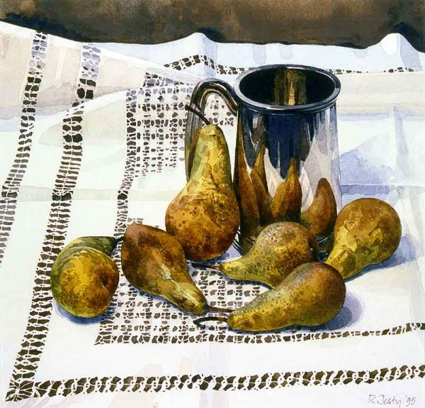 Pears  and a Tankard