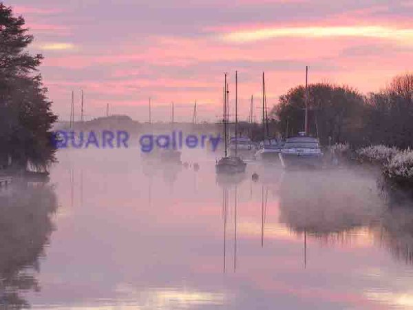 Rising Mist, River Frome, Wareham