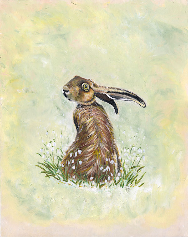 Spring in the Hare SOLD