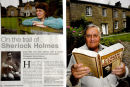 Arthur Conan Doyle's Yorkshire links. 2 of the pages from the feature in Yorkshire Ridings Magazine. October 2011.