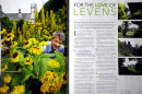 Chris Crowder, Head Gardener at Levens Hall. Live Preston Magazine. August 2011.