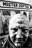 Tattooed Man,Morecambe.